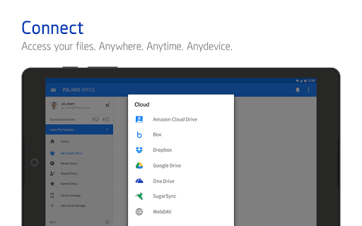 Polaris Office - Free Docs, Sheets, Slides   PDF screenshot 23