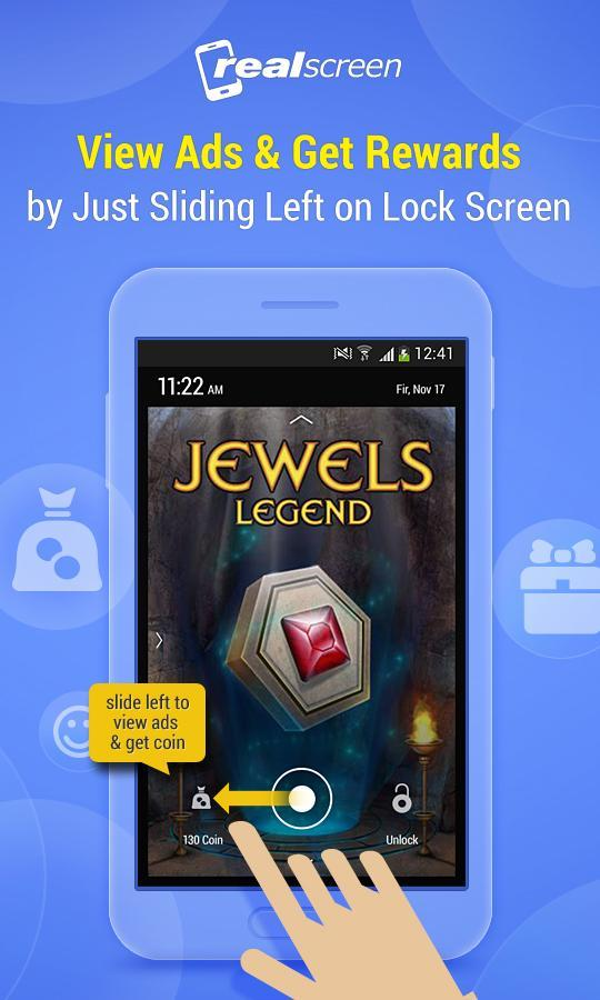 RealScreen-Free Cash Locker screenshot 2