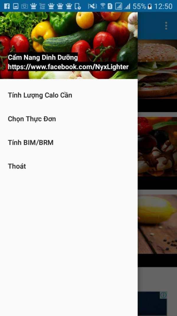Cẩm Nang Dinh Dưỡng screenshot 2
