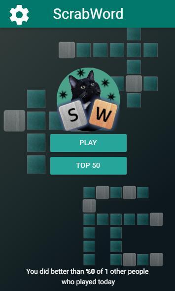 ScrabWord: Word Puzzle Game screenshot 1