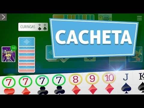 Cacheta Gin Rummy Online screenshot 1