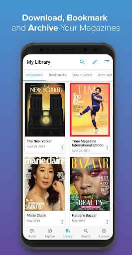 ZINIO - Magazine Newsstand 2 تصوير الشاشة
