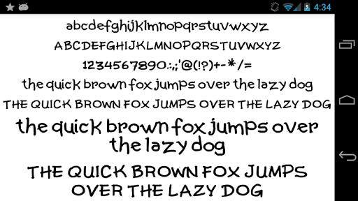 Fonts for FlipFont 50 Written screenshot 6