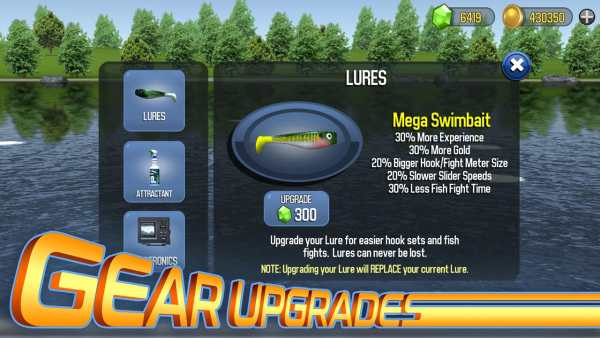Master Bass Angler: Free Fishing Game screenshot 7