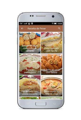 Receitas Fáceis - Receitas Simples e Deliciosas screenshot 7