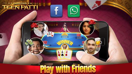 Teen Patti Comfun-Indian 3 Patti Card Game Online 1 تصوير الشاشة