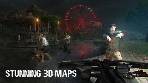Zombie Hunter: Survive the Undead Horde Apocalypse 4 تصوير الشاشة
