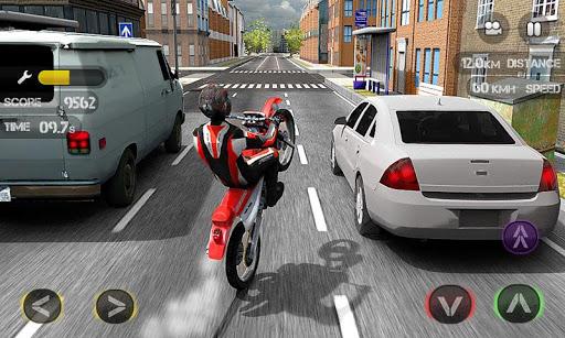 Race the Traffic Moto स्क्रीनशॉट 1
