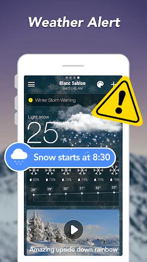 توقعات الطقس والحاجيات والرادار 6 تصوير الشاشة