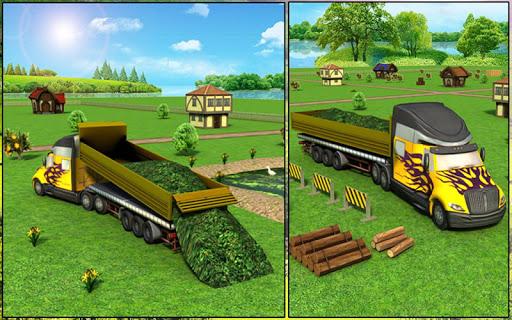 Farm Truck : Silage Game screenshot 14