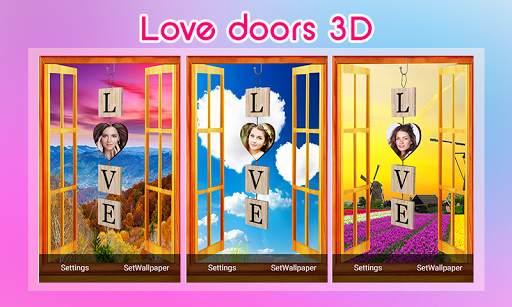 Love doors 3D screenshot 2