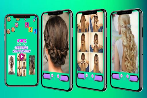 Hairstyles (Step by Step) screenshot 3