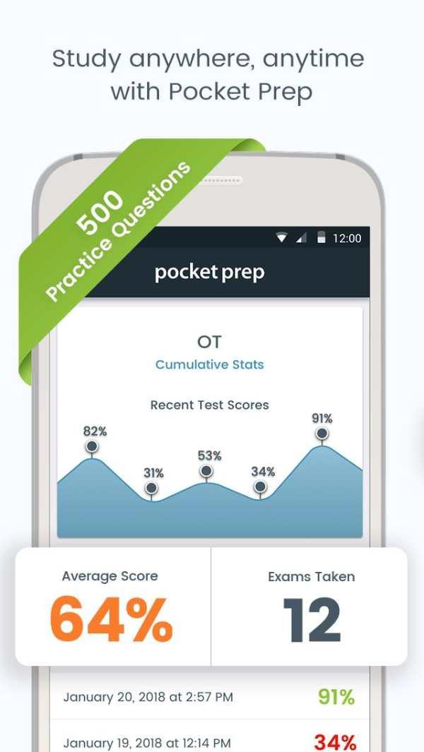 OT Pocket Prep screenshot 1