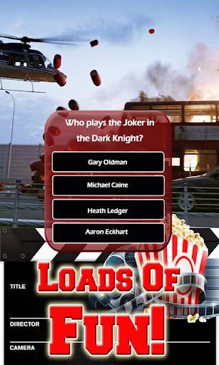 Action Movies Trivia - Hollywood Film Stars Quiz 3 تصوير الشاشة