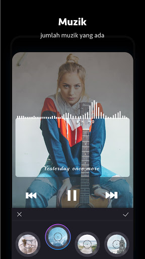 Beat.ly - Editor Video Percuma dengan Musik screenshot 6