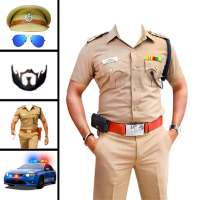 Men police suit photo editor on 9Apps