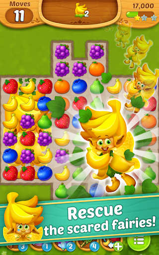 Fruits Mania : Fairy rescue 3 تصوير الشاشة