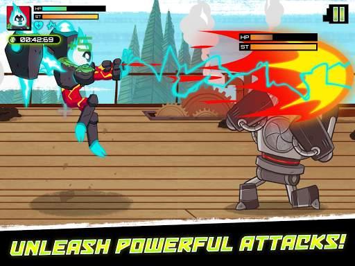 Ben 10 - Omnitrix Hero: Aliens vs Robots screenshot 9
