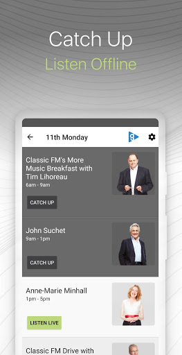 Classic FM Radio App screenshot 3