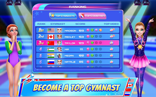 Gymnastics Superstar - Spin your way to gold! 5 تصوير الشاشة