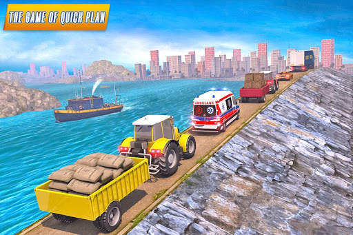 Drive Tractor trolley Offroad Cargo- Free 3D Games screenshot 5