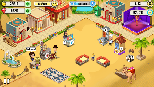 Resort Tycoon - Hotel Simulation 6 تصوير الشاشة