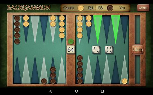 Backgammon Free 9 تصوير الشاشة