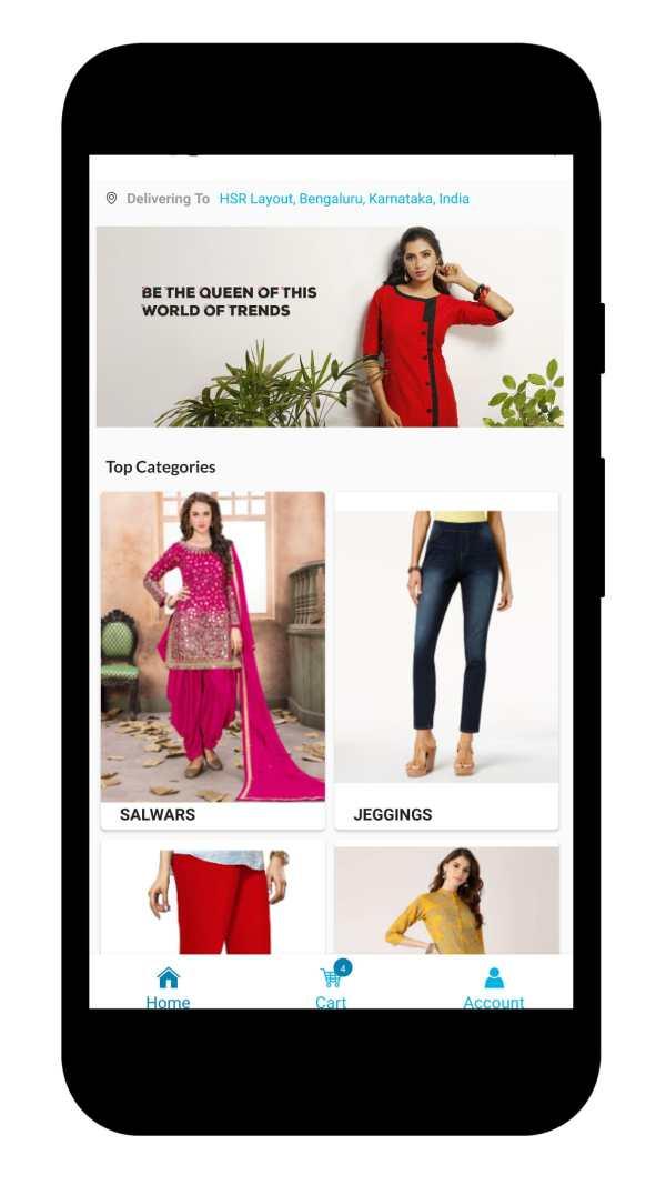 Durga Hi-Fashions screenshot 1