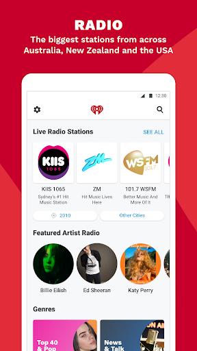 iHeartRadio - Free Music, Radio & Podcasts screenshot 3