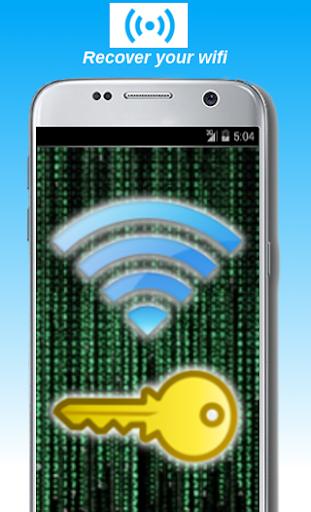 Wifi password recovery screenshot 2