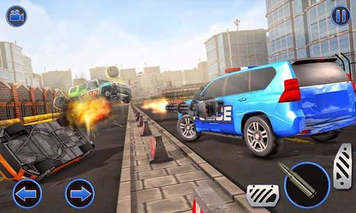 US Police ATV Quad Bike Hummer: Police Chase Games screenshot 5
