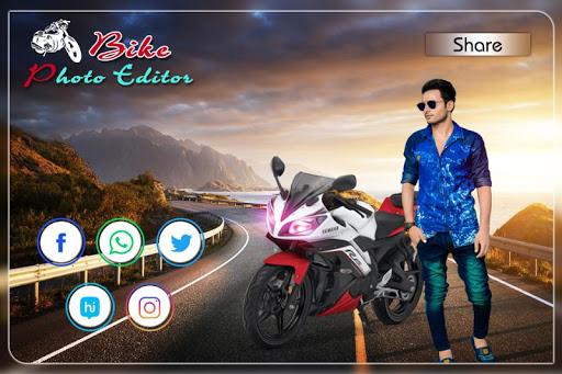 Bike Photo Editor: Bike Photo Frames screenshot 6