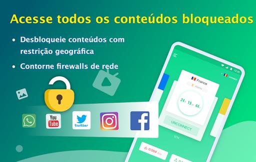 NetCapsule VPN VPN grátis, VPN rápida, Desbloquear screenshot 3