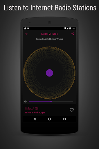 Radioverse - Internet Radio screenshot 3