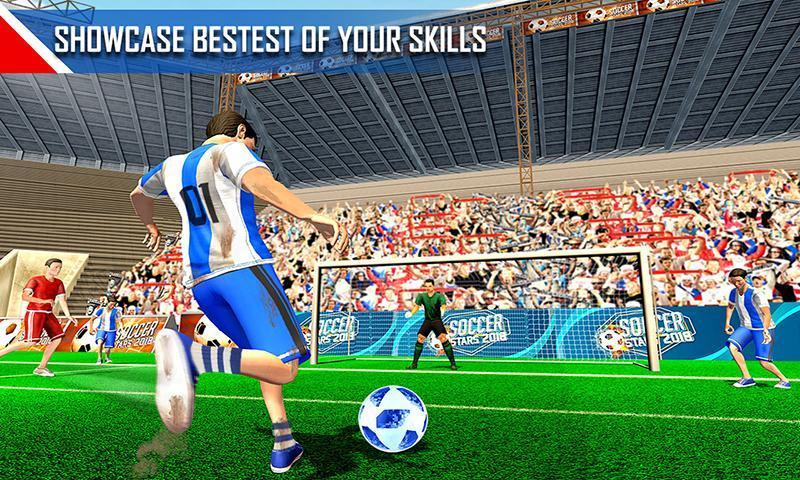 Real Football WC 2018 Dream League Soccer Stars 4 تصوير الشاشة