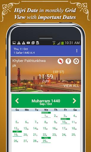 Qibla Direction Finder & Prayer Time Alarm screenshot 5