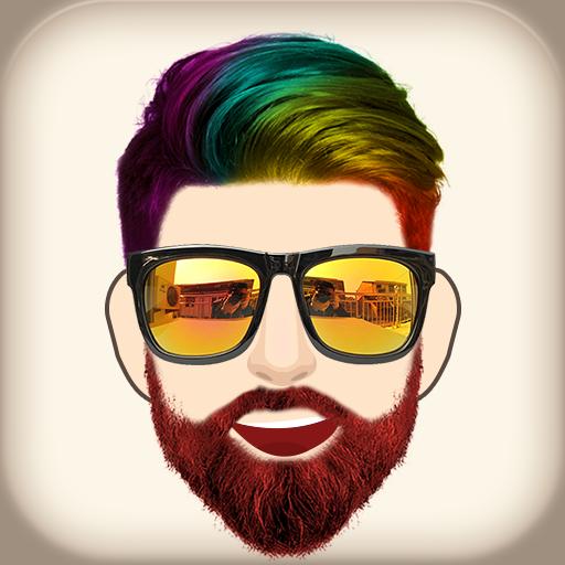 Beard Man - لحية محرر الصور, تعديل الصور أيقونة