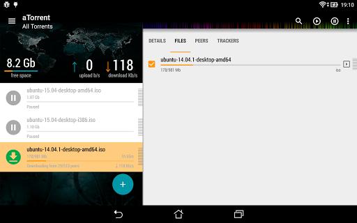 aTorrent - torrent downloader screenshot 10