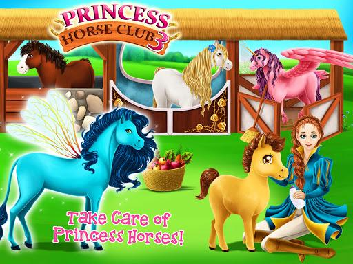 Princess Horse Club 3 - Royal Pony & Unicorn Care screenshot 8