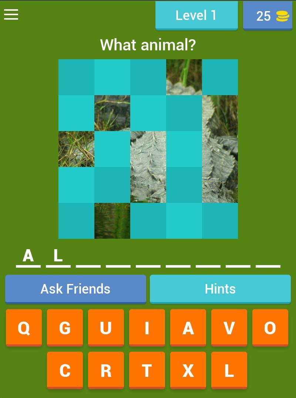 Animal Guessing Game 9 تصوير الشاشة