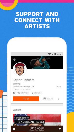 SoundCloud - Play Music, Audio & New Songs 4 تصوير الشاشة