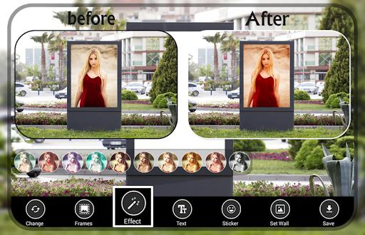 Natural Hoarding Photo Frames - green beauty style 3 تصوير الشاشة