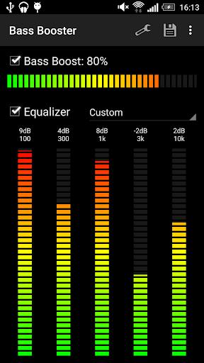 Bass Booster - Music Equalizer screenshot 2