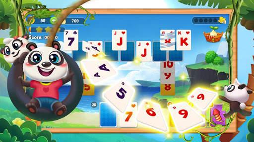 Classic Solitaire Panda screenshot 4
