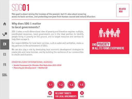 Sustainable Development Goals screenshot 5