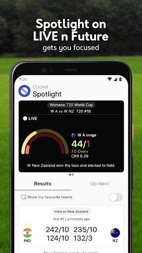 Live cricket scores, unique cricket app cricsmith 6 تصوير الشاشة