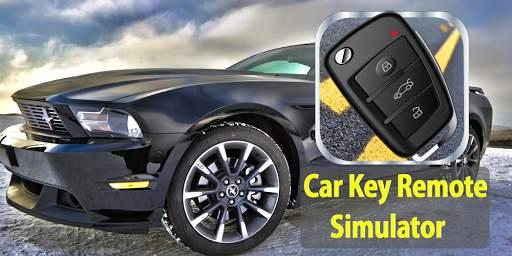 مفتاح السيارة عن بعد قفل محاكي 2 تصوير الشاشة