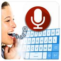 English Voice Typing Keyboard – Speak to text أيقونة