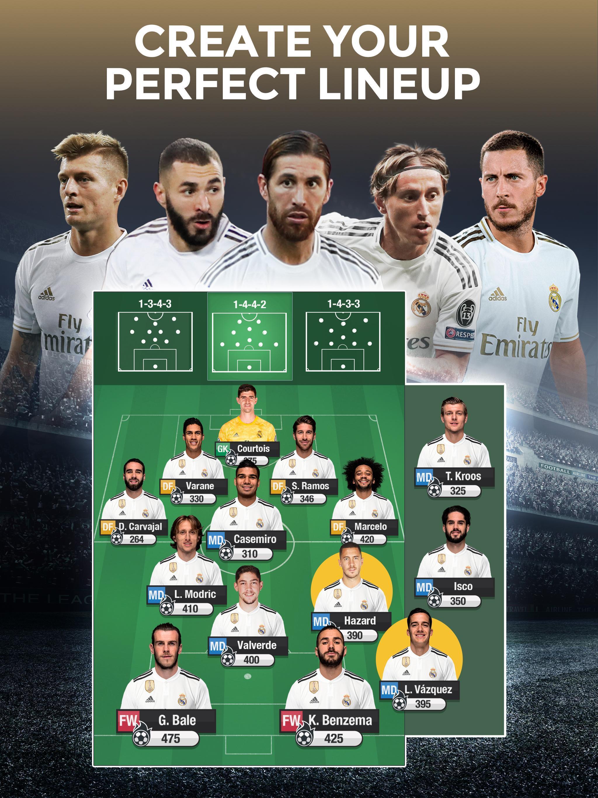Real Madrid Fantasy Manager'20 Real football live screenshot 6
