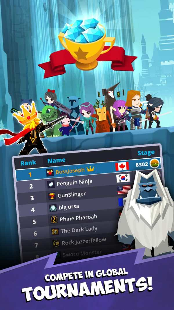 Tap Titans 2: Legends & Mobile Heroes Clicker Game screenshot 6
